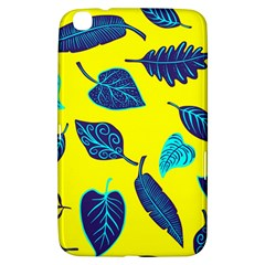 Leaves Pattern Picture Detail Samsung Galaxy Tab 3 (8 ) T3100 Hardshell Case