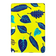 Leaves Pattern Picture Detail Samsung Galaxy Tab Pro 10 1 Hardshell Case by Simbadda
