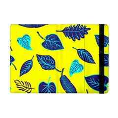 Leaves Pattern Picture Detail Ipad Mini 2 Flip Cases