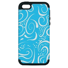Scribble Reason Design Pattern Apple Iphone 5 Hardshell Case (pc+silicone)