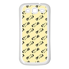 Guitar Guitars Music Instrument Samsung Galaxy S3 Back Case (white)