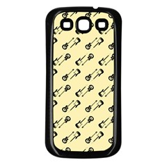 Guitar Guitars Music Instrument Samsung Galaxy S3 Back Case (black)