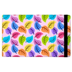 Colorful Leaves Apple Ipad 2 Flip Case by vintage2030
