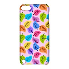 Colorful Leaves Apple Ipod Touch 5 Hardshell Case With Stand by vintage2030