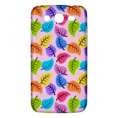 Colorful Leaves Samsung Galaxy Mega 5 8 I9152 Hardshell Case  by vintage2030