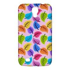 Colorful Leaves Samsung Galaxy Mega 6 3  I9200 Hardshell Case by vintage2030