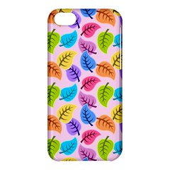 Colorful Leaves Apple Iphone 5c Hardshell Case by vintage2030
