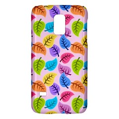 Colorful Leaves Samsung Galaxy S5 Mini Hardshell Case  by vintage2030