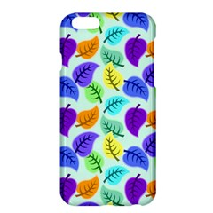Colorful Leaves Blue Apple Iphone 6 Plus/6s Plus Hardshell Case by vintage2030