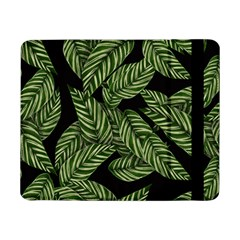 Tropical Leaves On Black Samsung Galaxy Tab Pro 8 4  Flip Case