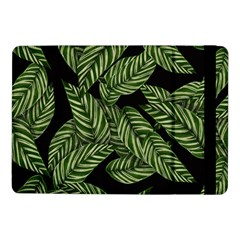 Tropical Leaves On Black Samsung Galaxy Tab Pro 10 1  Flip Case