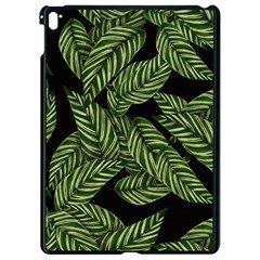 Tropical Leaves On Black Apple Ipad Pro 9 7   Black Seamless Case by vintage2030