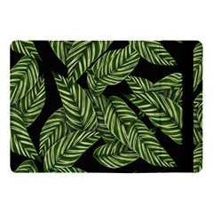 Tropical Leaves On Black Apple Ipad Pro 10 5   Flip Case