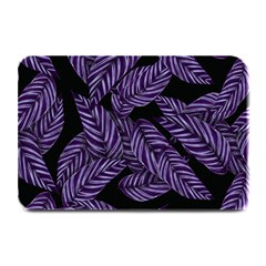 Tropical Leaves Purple Plate Mats