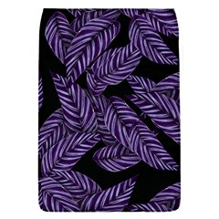 Tropical Leaves Purple Removable Flap Cover (s)