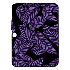 Tropical Leaves Purple Samsung Galaxy Tab 3 (10 1 ) P5200 Hardshell Case