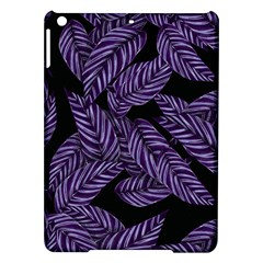 Tropical Leaves Purple Ipad Air Hardshell Cases