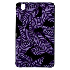 Tropical Leaves Purple Samsung Galaxy Tab Pro 8 4 Hardshell Case