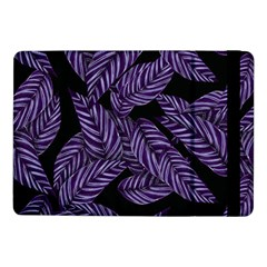 Tropical Leaves Purple Samsung Galaxy Tab Pro 10 1  Flip Case