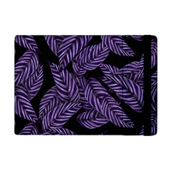 Tropical Leaves Purple Ipad Mini 2 Flip Cases