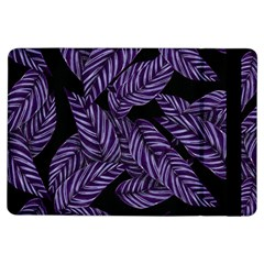 Tropical Leaves Purple Ipad Air Flip