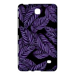Tropical Leaves Purple Samsung Galaxy Tab 4 (8 ) Hardshell Case