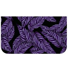 Tropical Leaves Purple Lunch Bag