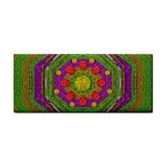 Flowers In Rainbows For Ornate Joy Hand Towel