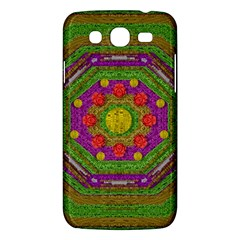Flowers In Rainbows For Ornate Joy Samsung Galaxy Mega 5 8 I9152 Hardshell Case  by pepitasart