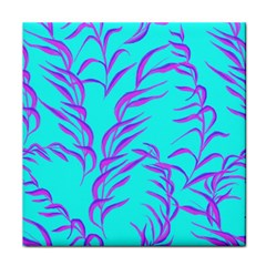Branches Leaves Colors Summer Tile Coasters