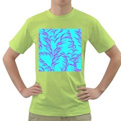 Branches Leaves Colors Summer Green T Shirt