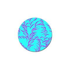 Branches Leaves Colors Summer Golf Ball Marker (10 Pack) by Simbadda