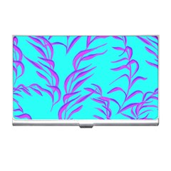 Branches Leaves Colors Summer Business Card Holder
