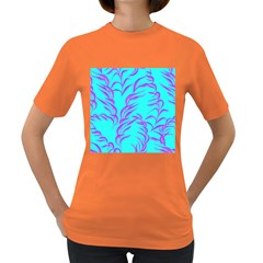 Branches Leaves Colors Summer Women s Dark T Shirt