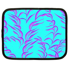 Branches Leaves Colors Summer Netbook Case (large)