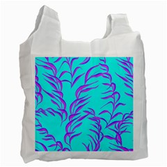 Branches Leaves Colors Summer Recycle Bag (one Side)