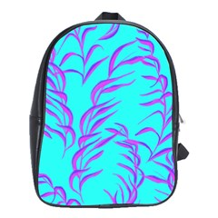 Branches Leaves Colors Summer School Bag (large)