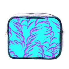 Branches Leaves Colors Summer Mini Toiletries Bag (one Side)