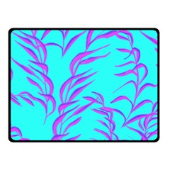 Branches Leaves Colors Summer Fleece Blanket (small)
