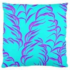 Branches Leaves Colors Summer Large Cushion Case (two Sides)