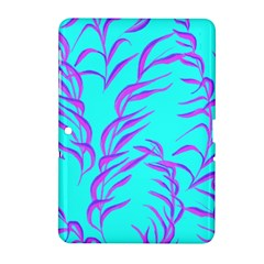 Branches Leaves Colors Summer Samsung Galaxy Tab 2 (10 1 ) P5100 Hardshell Case