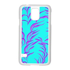 Branches Leaves Colors Summer Samsung Galaxy S5 Case (white)