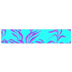Branches Leaves Colors Summer Small Flano Scarf