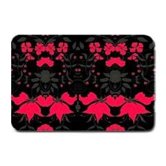 Pink Floral Pattern By Flipstylez Designs Plate Mats