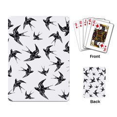Birds Pattern Playing Cards Single Design