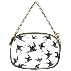 Birds Pattern Chain Purse (two Sides)