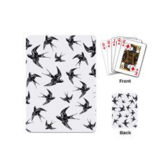 Birds Pattern Playing Cards (mini)