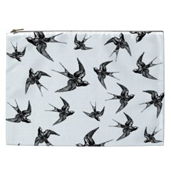 Birds Pattern Cosmetic Bag (xxl)