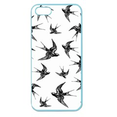 Birds Pattern Apple Seamless Iphone 5 Case (color)