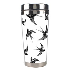 Birds Pattern Stainless Steel Travel Tumblers